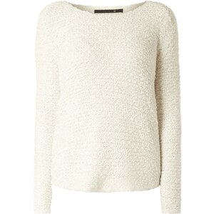 Only Oversized Pullover in Boucléoptik