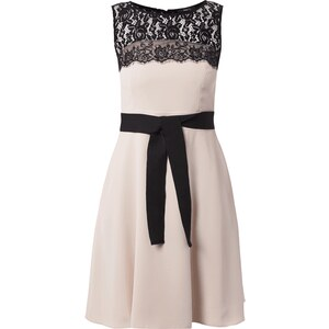 Jake*s Collection Two-Tone-Kleid mit floraler Spitze