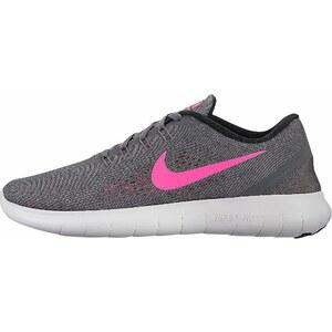 Große Größen: Nike Laufschuh »Free Run Wmns«, anthrazit-neonpink, Gr.36-43