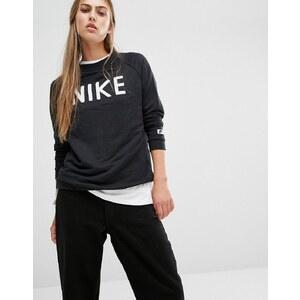 Nike - Sweat à col ras du cou et logo - Noir