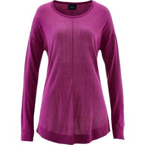 bpc bonprix collection Pull oversize violet manches longues femme - bonprix
