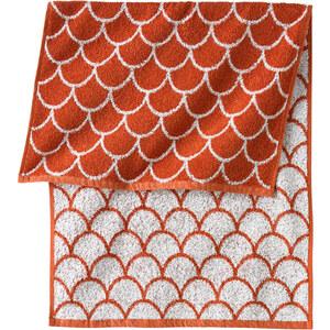 bpc living Handtuch Frida in orange von bonprix