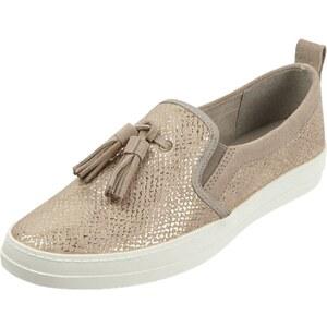 Tamaris Slip On Sneaker aus echtem Leder