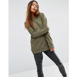 ASOS - Ultimate - Übergroßes Sweatshirt - Grün