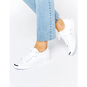 Converse Jack Purcell - Baskets en toile - Blanc - Blanc