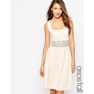 ASOS TALL - Debutante - Verziertes Kleid - Blau