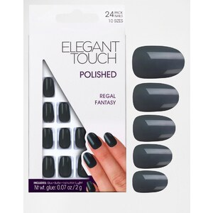 Elegant Touch - Faux-ongles vernis - Collection Royal - Rose