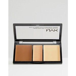 NYX - Palette crayon illuminateur et contour - Crème - Fauve