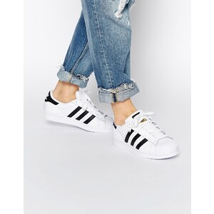 Adidas Originals - Superstar - Baskets - Noir et blanc - Blanc
