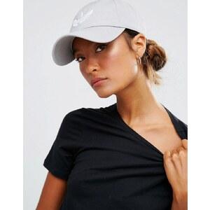 adidas Originals - Snapback-Kappe mit Kleeblatt-Logo - Grau
