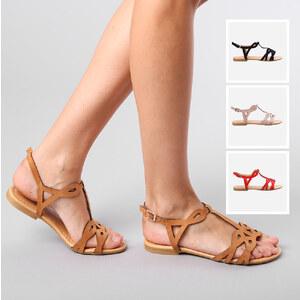 Lesara Sandales nu-pieds avec brides décoratives