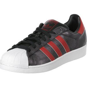 adidas Superstar chaussures black/collegiate red