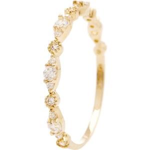 OR Bella Relation - Bague - en or jaune 375/1000 avec zircons
