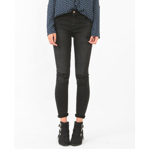 Skinny raw cut gris, Femme, Taille 34 -PIMKIE- MODE FEMME