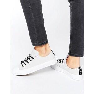 Converse - Chuck Ii Shield Canvas Ox - Sneakers in Grau und Rosa - Grau