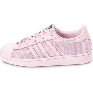 adidas Baskets/Tennis Superstar Nylon Enfant Rose Enfant
