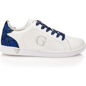 Guess Super 2 - Sneakers en cuir - blanc