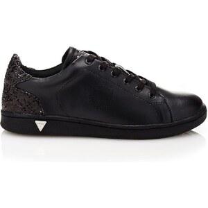 Guess Super 2 - Sneakers en cuir - noir