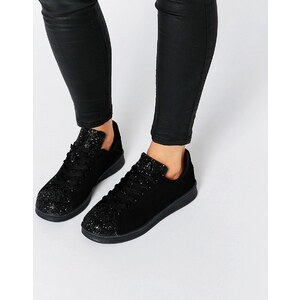 Missguided - Baskets scintillantes - Noir