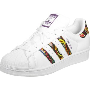 adidas Superstar W chaussures ftwr white/mid grape