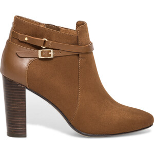 Eram Low-boots boucles camel