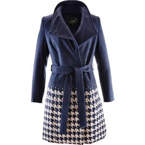 bpc selection Manteau imitation laine bleu manches longues femme - bonprix