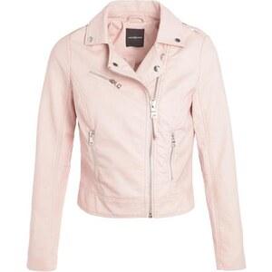 Veste style motard simili-cuir Rose Synthetique (polyurethane) - Femme Taille 2 - Cache Cache