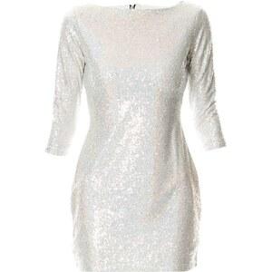 Glamorous Robe courte - argent