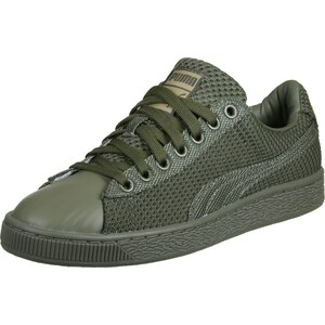 Puma Basket Tech Pack chaussures burnt/olive