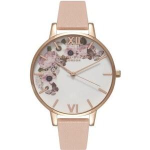 Montre Olivia Burton Enchanted Garden - Dusty Pink, White et Rose Gold