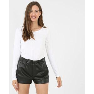 T-shirt basique blanc, Femme, Taille L -PIMKIE- MODE FEMME