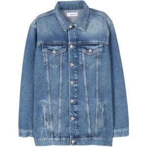 Mango Veste en jean - denim bleu