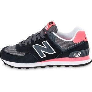 New Balance Baskets/Running Wl574 Cpl Noire Et Rose Femme