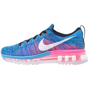 Nike Performance FLYKNIT MAX Chaussures de running neutres blue