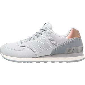 New Balance WL574 Baskets basses silver mink