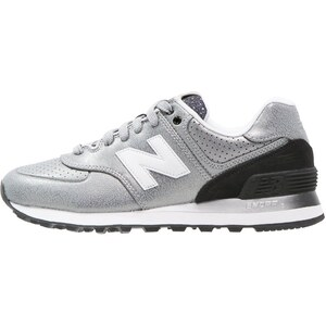New Balance WL574 Baskets basses silver/black