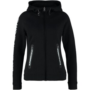 Superdry Sweat zippé black