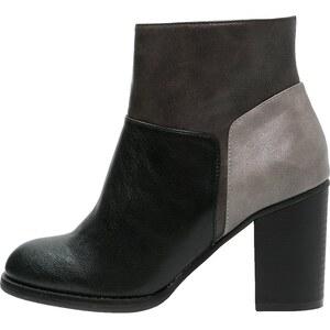 Anna Field Boots à talons black/light grey/dark grey