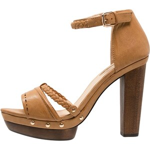 Miss Selfridge FLEUR Sandales à plateforme brown