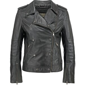 Calvin Klein Jeans AURALA Veste en cuir black