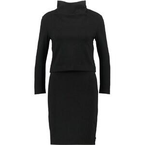 Calvin Klein Jeans DACIA MOCK Robe en jersey black