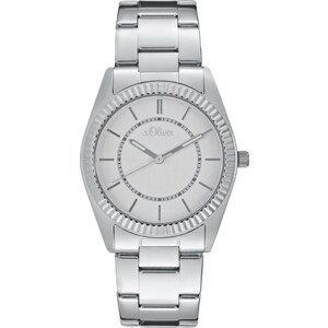 s.Oliver Montre silvercoloured
