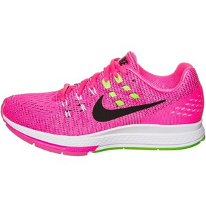Nike Performance AIR ZOOM STRUCTURE 19 Chaussures de running stables pink blast/black/electric green