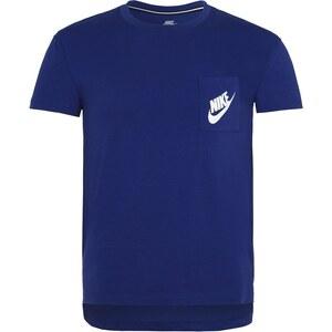 Nike Sportswear SIGNAL Tshirt imprimé deep royal blue/white
