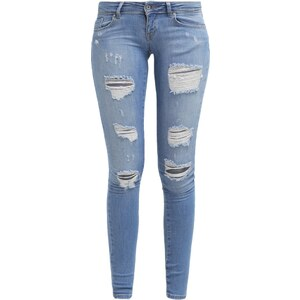 ONLY ONLCORAL Jeans Skinny light blue denim