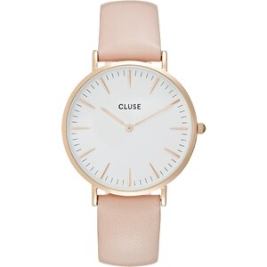 Cluse LA BOHÈME Montre rose goldcoloured/white/pink