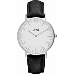 Cluse LA BOHÈME Montre silvercoloured/white/black