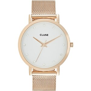 Cluse PAVANE Montre rose goldcoloured/white