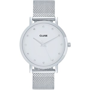 Cluse PAVANE Montre silvercoloured/white
