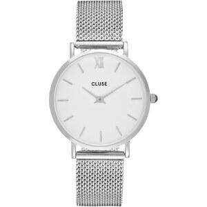 Cluse MINUIT Montre silvercoloured/white